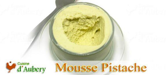 La Mousse Pistache de Florent Cantaut (méthode 1 : pâte à bombe)