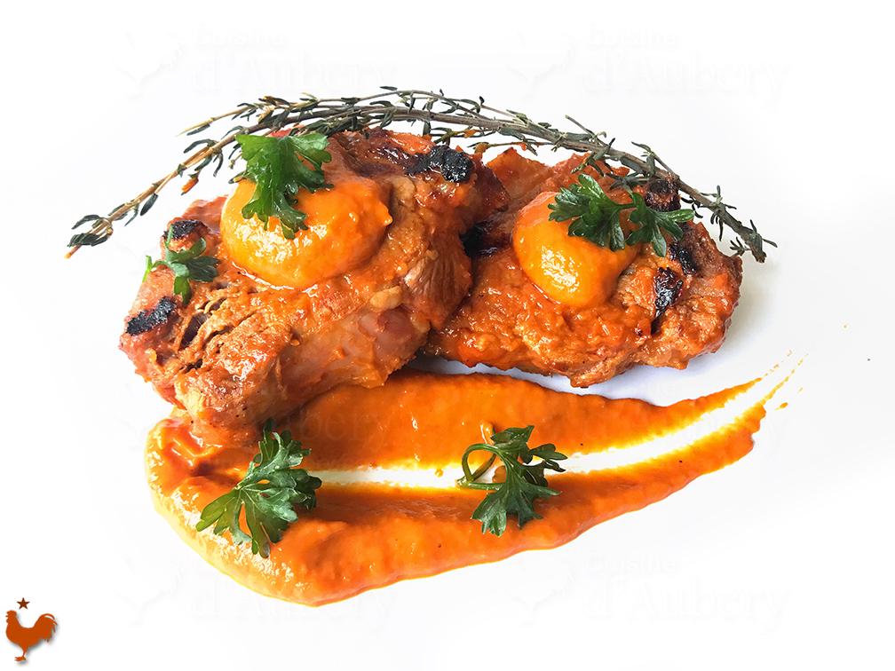 Côtes d'Agneau, marinade Basquaise