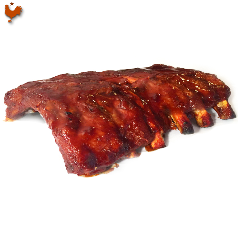 Barbecue Pork Ribs, Highland Park style
