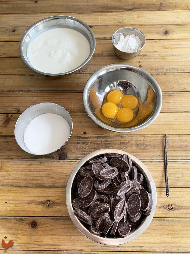 Crème Pâtissière Chocolat