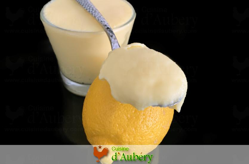 La Crème au Citron (recette de M.O.F)