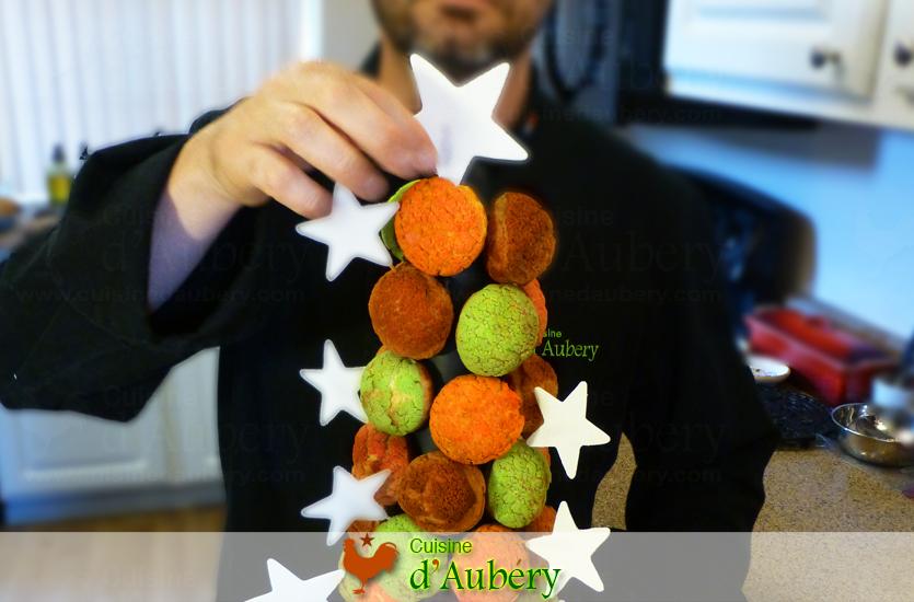 Le Croquembouche moderne et sans caramel