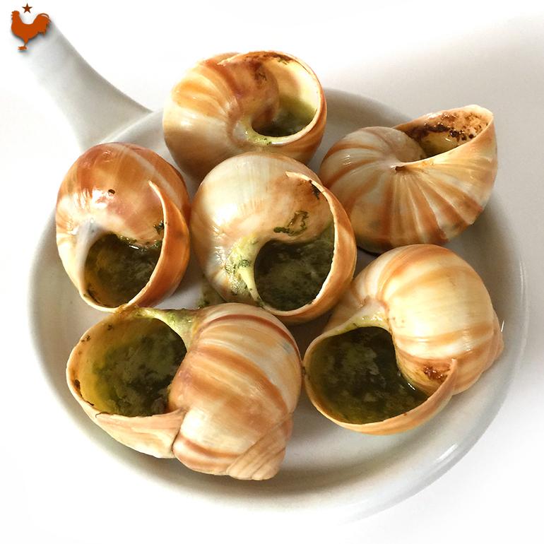 Les Escargots de Bourgogne au Beurre persillé de Julia Child