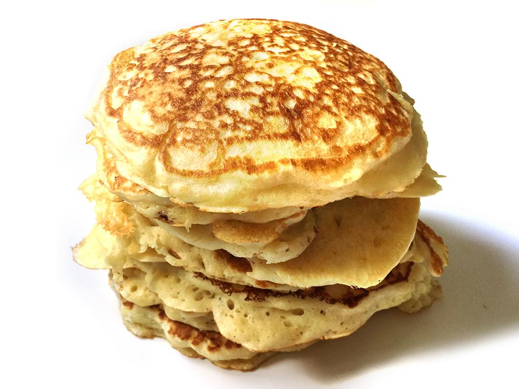 Pancakes moelleux et aériens
