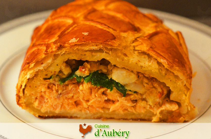 Salmon Lobster Wellington Recipe