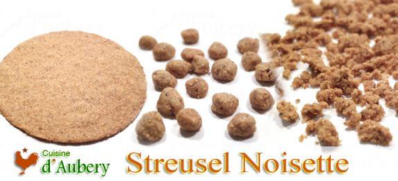Le Streusel Noisette de M.O.F J-M Perruchon