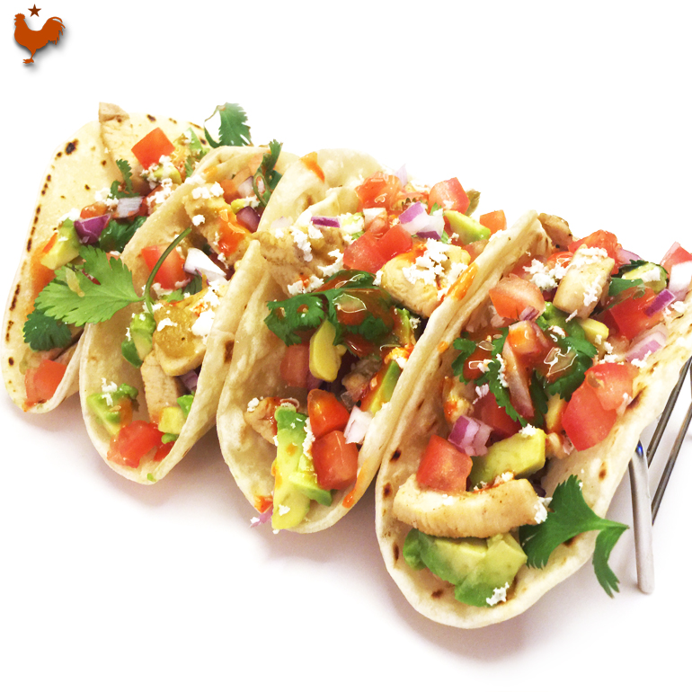 Easy Mexican Chicken Tacos