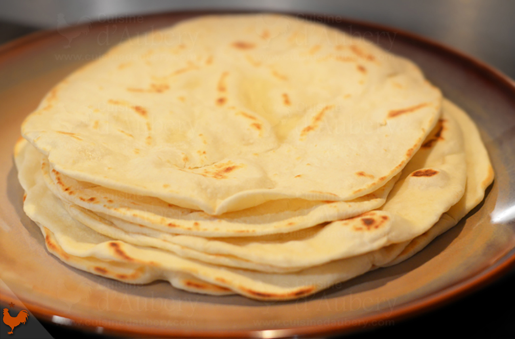 Tortillas Mexicaines à la Farine