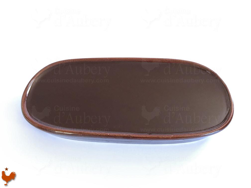 Glaçage Miroir Chocolat pour Éclairs
