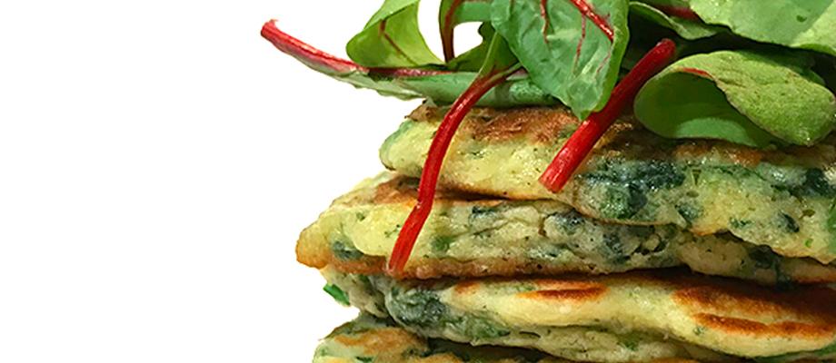 #pancake_épinard