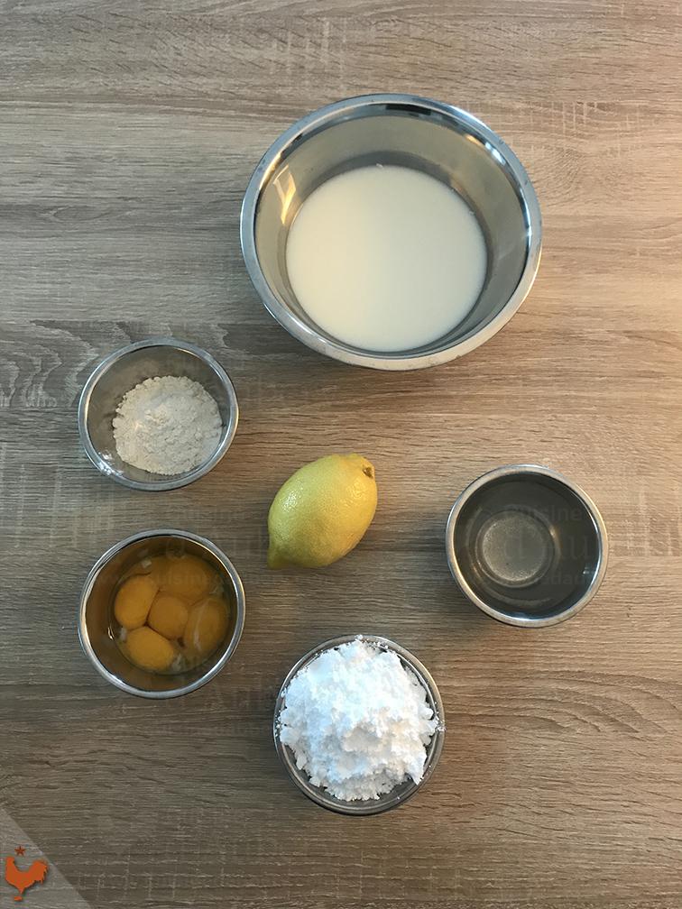 Pasteis de Nata (méthode 1)