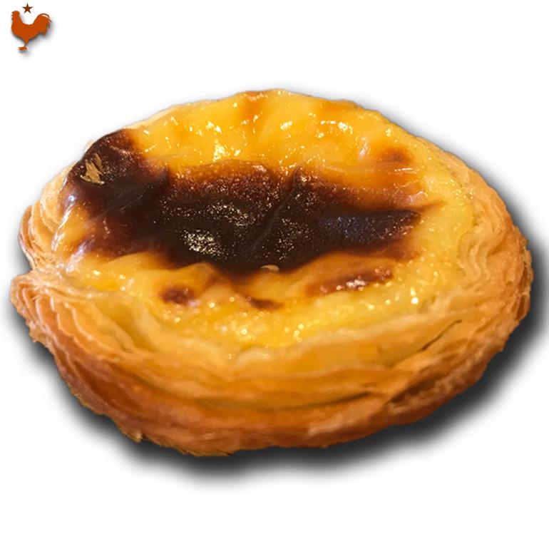 Recette des Pasteis de Nata de Bernard Laurance (méthode 1 : pâtissière)