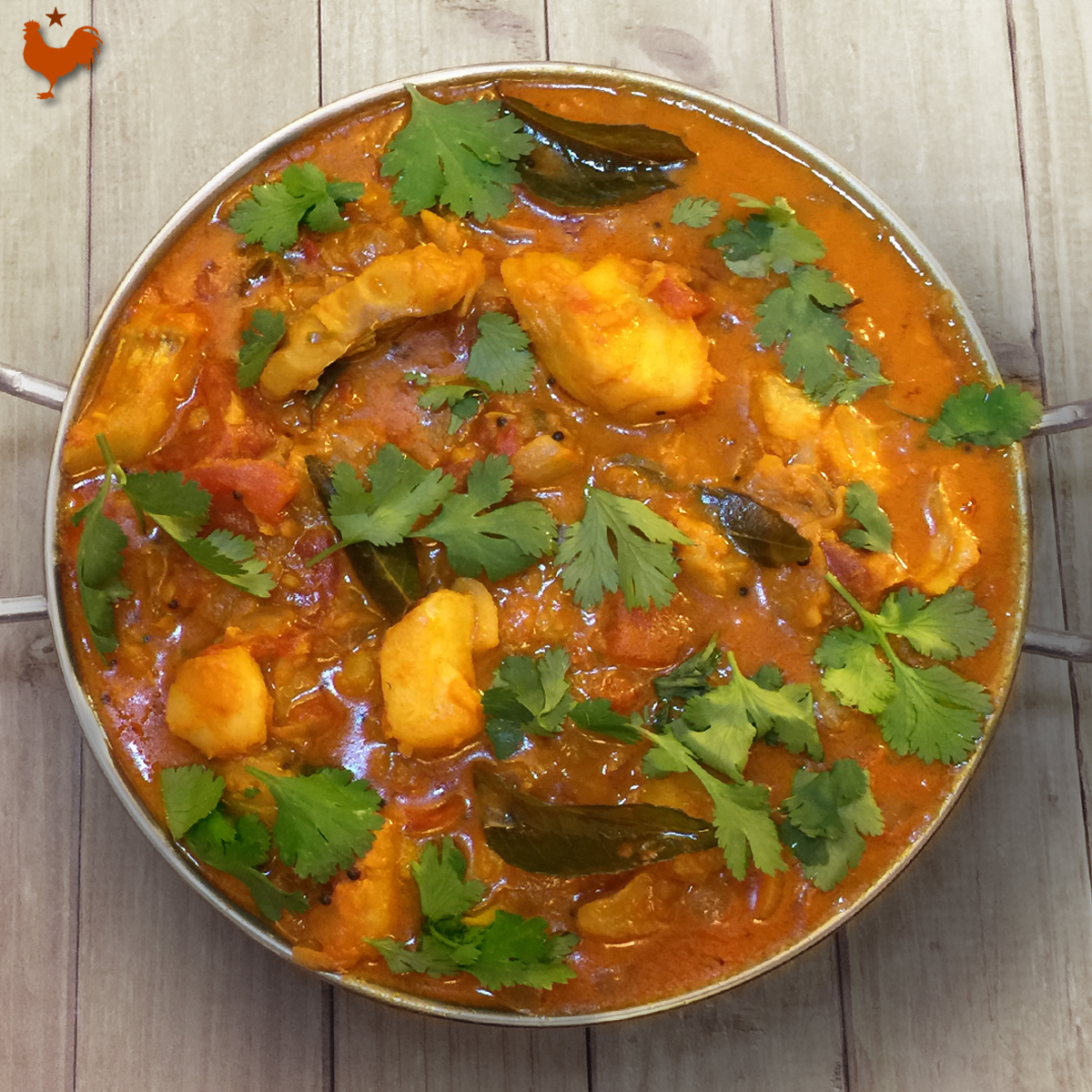 Le Curry de Poisson du Kerala de Jamie Oliver