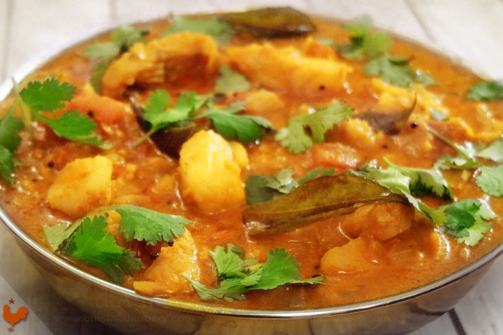 Le curry de Poisson du Kerala