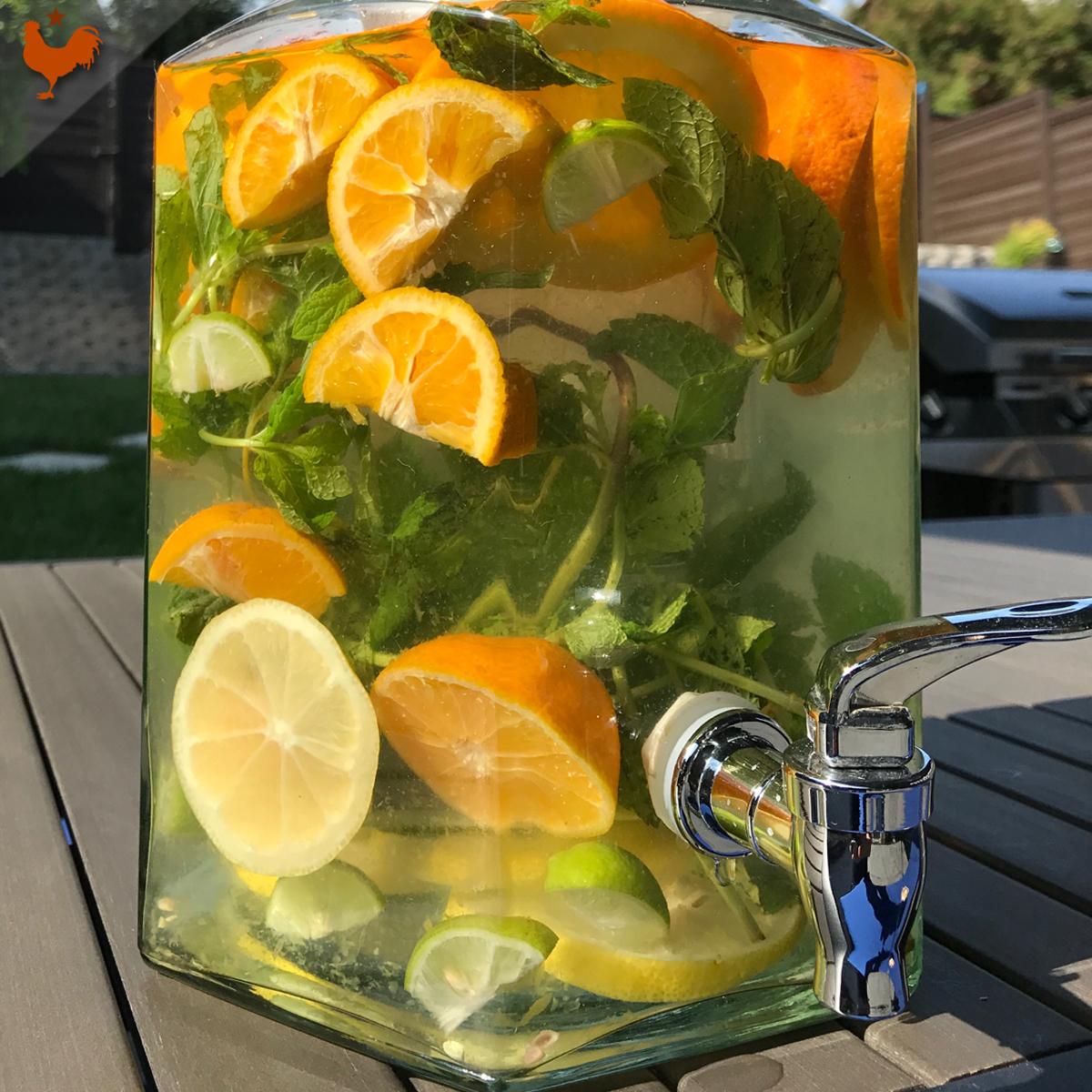 L'Infusion Glacée de Martha Stewart, pour les picnics et soirées d'été