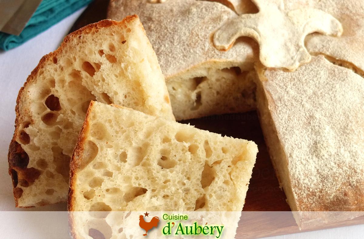 Le Carré Québécois (pain à l'ancienne), comme à Montréal (Méthode 5 : Levain Liquide)