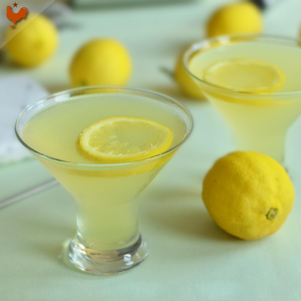 Le Cocktail Lemon Drop, comme à Manhattan