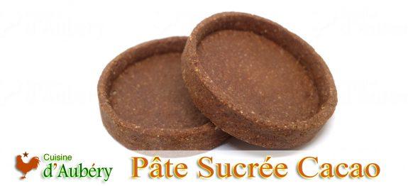 La Pâte Sucrée Cacao de M.O.F Philippe Urraca