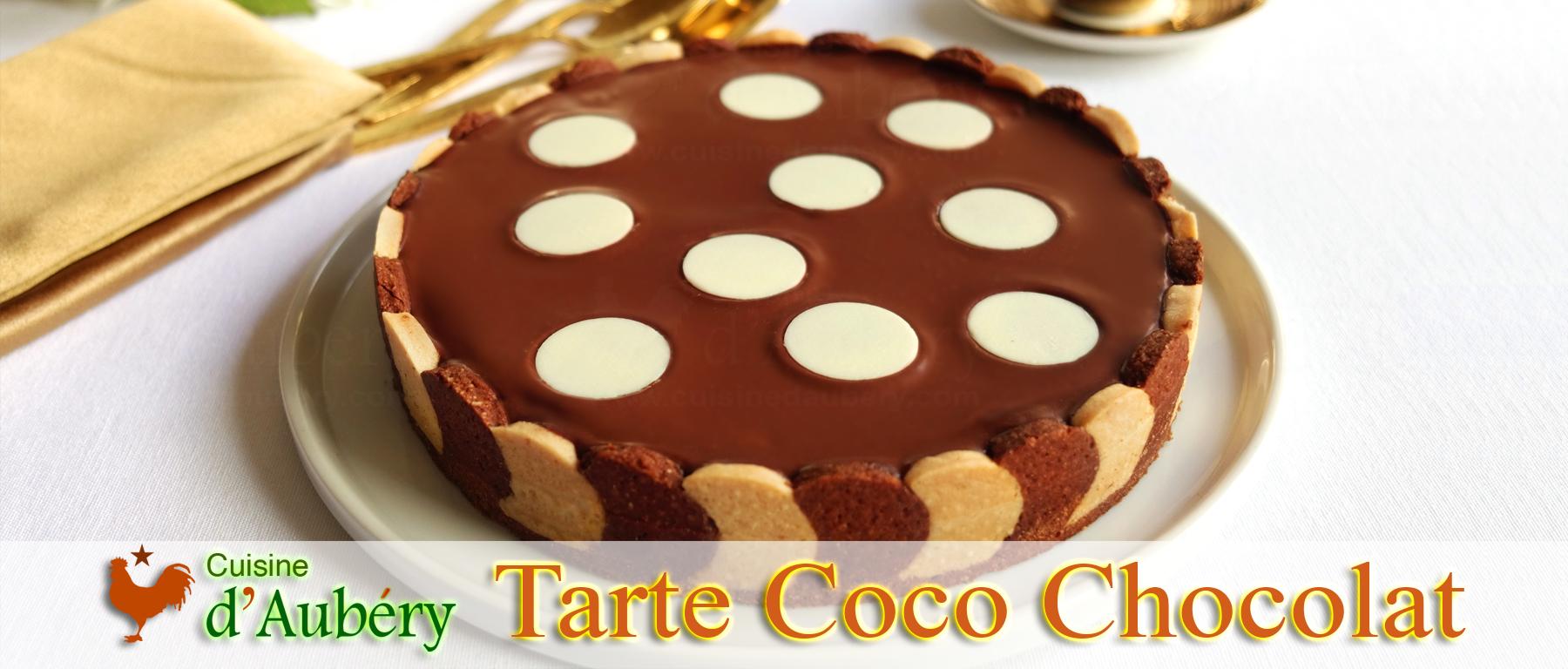 La Tarte Coco Chocolat (comme à Miami)