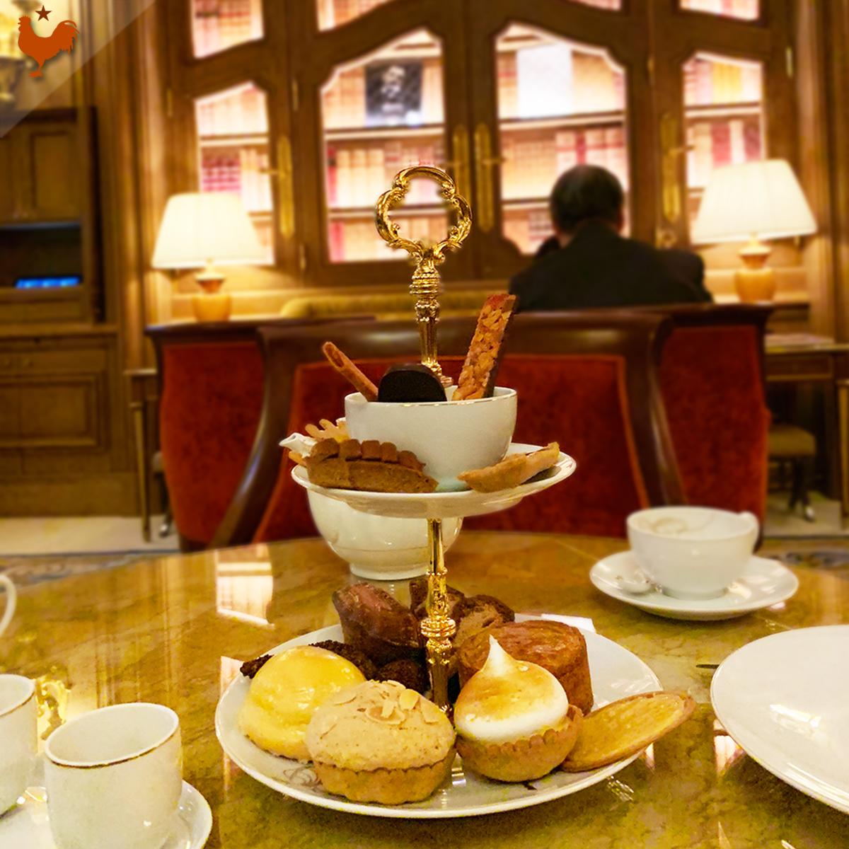 Le Tea Time du Ritz Paris (Salon Proust, François Perret)