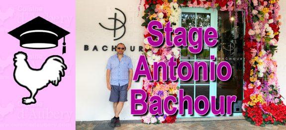 Stage Valrhona avec Antonio Bachour à Miami
