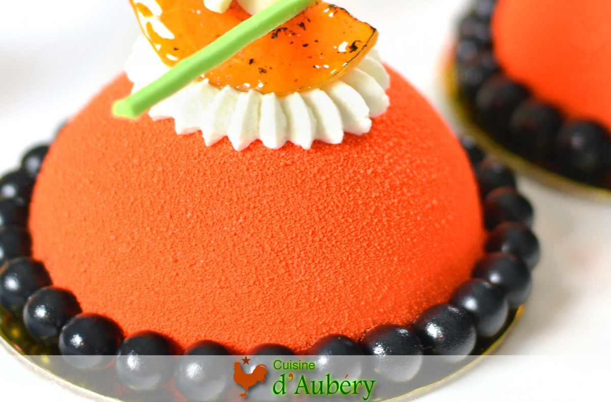 The Apricot Mousse Cakes