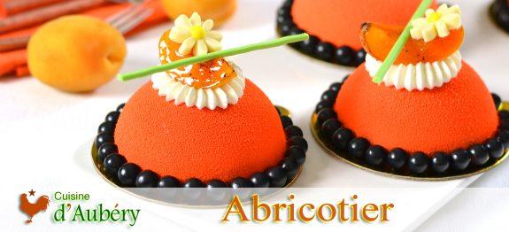 L'Abricotier (Entremets Abricot Amande Citron Vert)