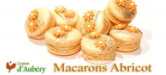 Les Macarons Pêche Abricot Safran de Pierre Hermé