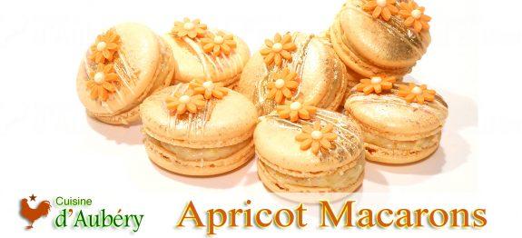 Pierre Hermé's Peach Apricot Saffron Macarons