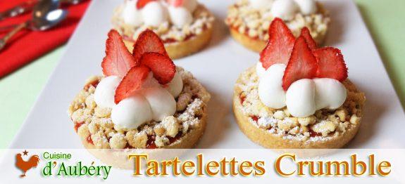 Les Tartelettes Crumble à la Fraise et Gingembre (Comme à Melbourne)