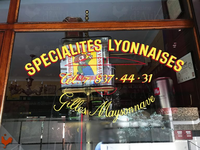 Véritables bouchons de Lyon