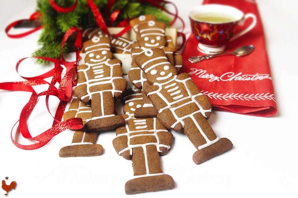 Biscuits épicés de Noël