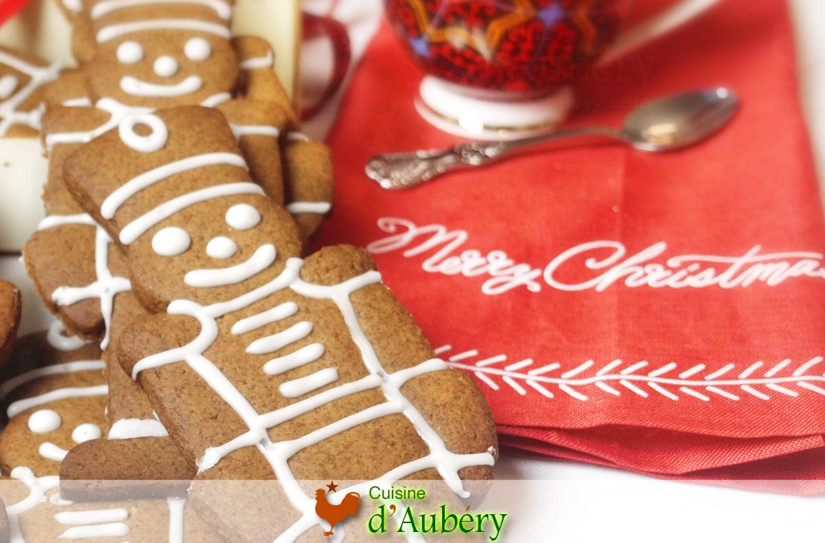 Les Biscuits épicés de Noël (comme à Cheverny, chez Tintin)