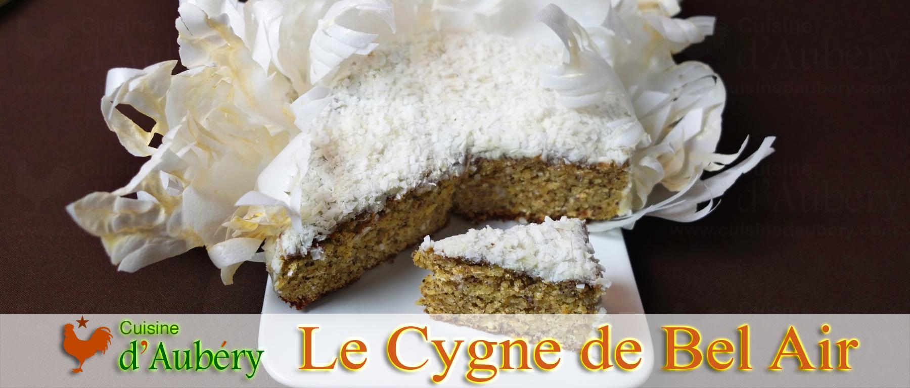 Le Cygne de Bel-Air (Noisette Mandarine, avec le wafer paper pour Cyril Lignac) (S9-EM1)
