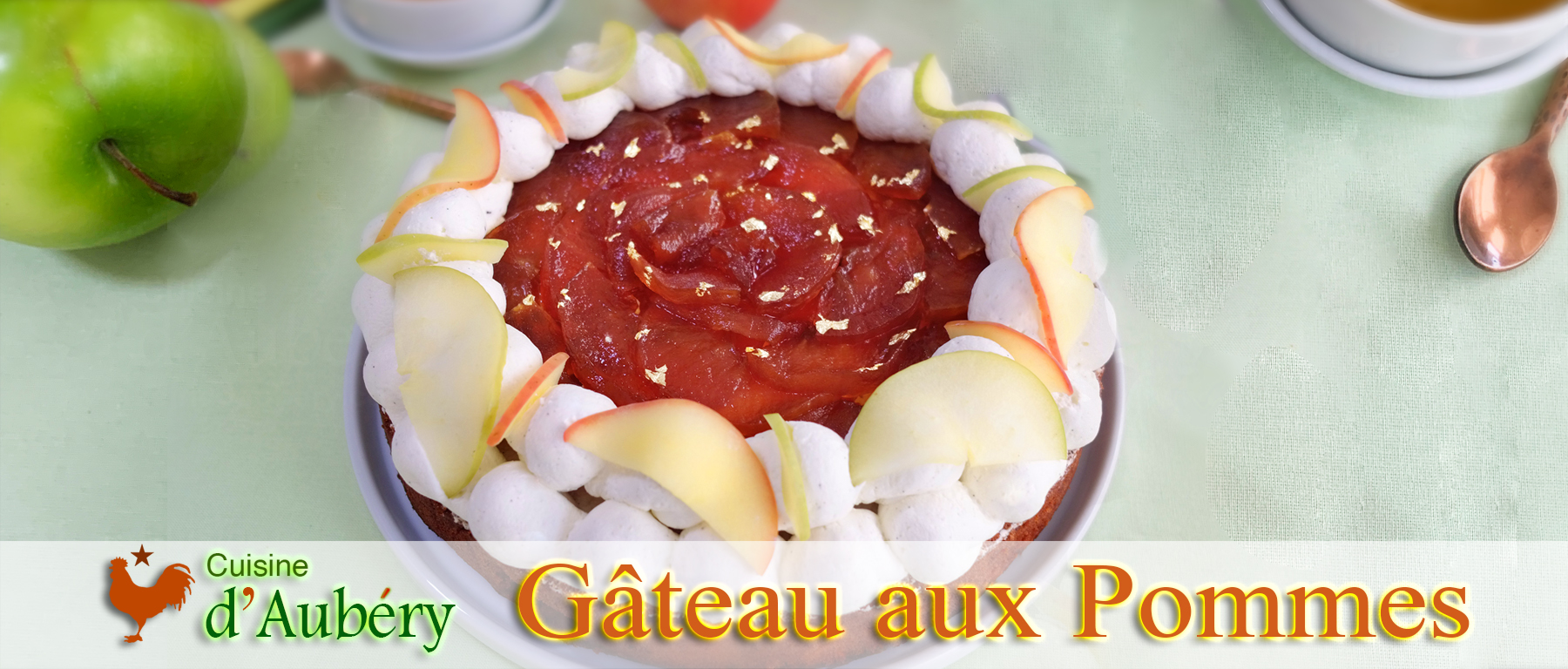 Le Gâteau aux Pommes de M.O.F Vincent Boué