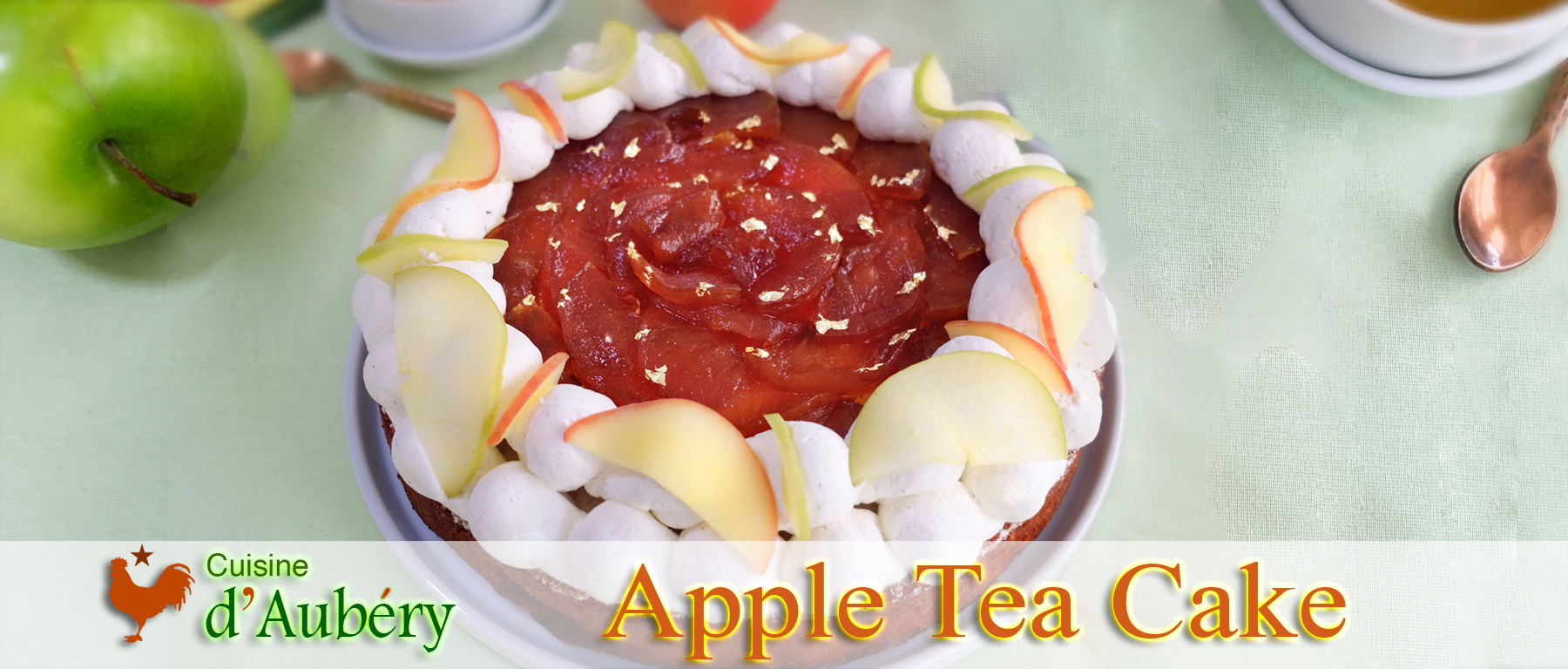 Vincent Boué's Apple Teacake