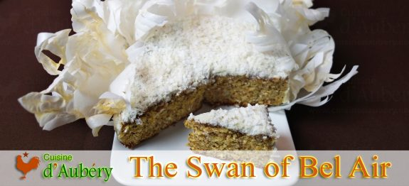 The Swan of Bel-Air (Mandarine Hazelnut for Cyril Lignac) (Le Meilleur Pâtissier)