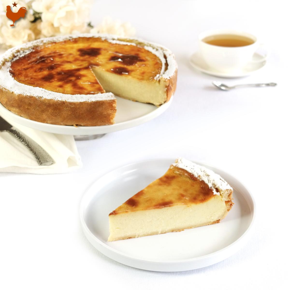 Stéphane Glacier's Parisian Flan Pie