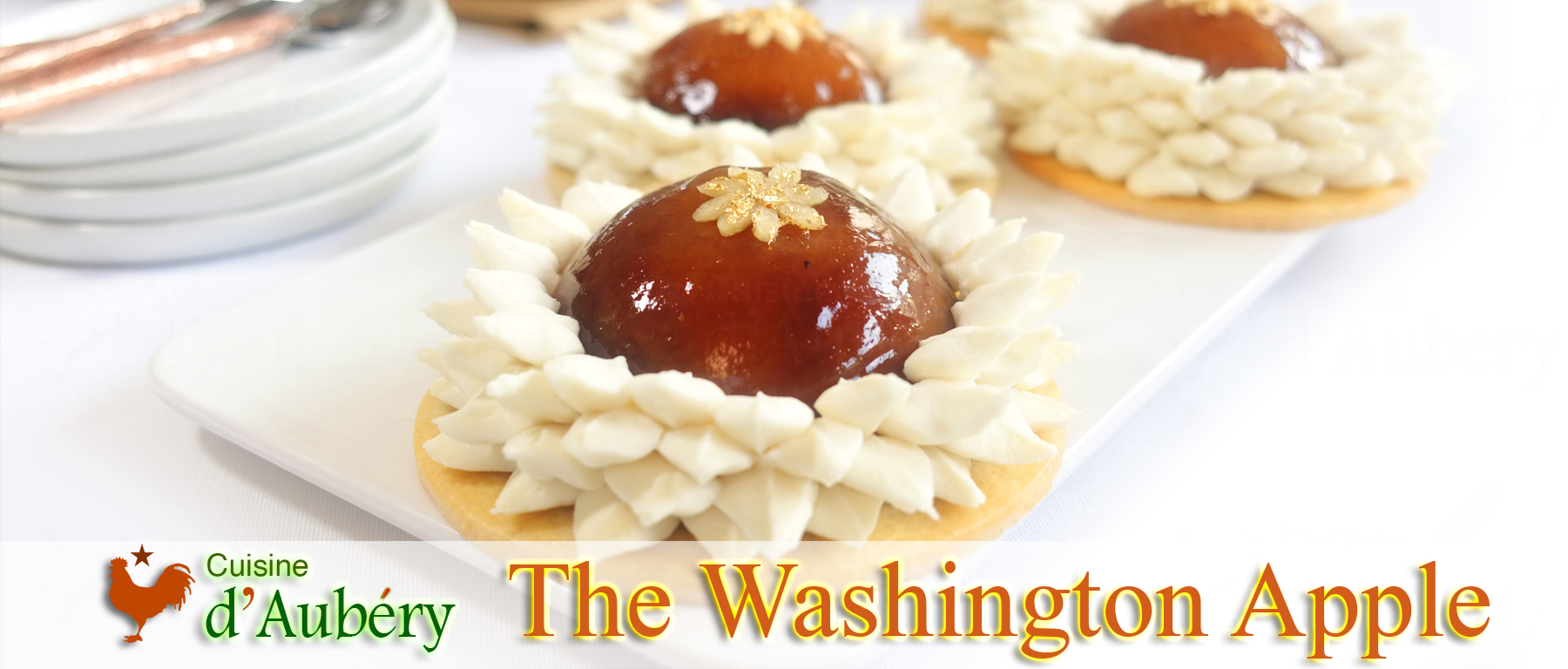The Washington Apple (Le Meilleur Pâtissier, episode 2)