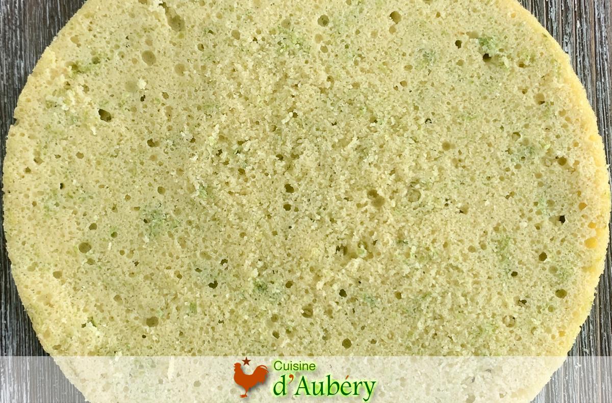 Le Biscuit Amande Citron Vert (Pain de Gênes) de Johan Martin