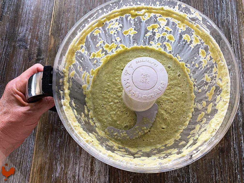 Les Pancakes Verts au maïs et oignons verts