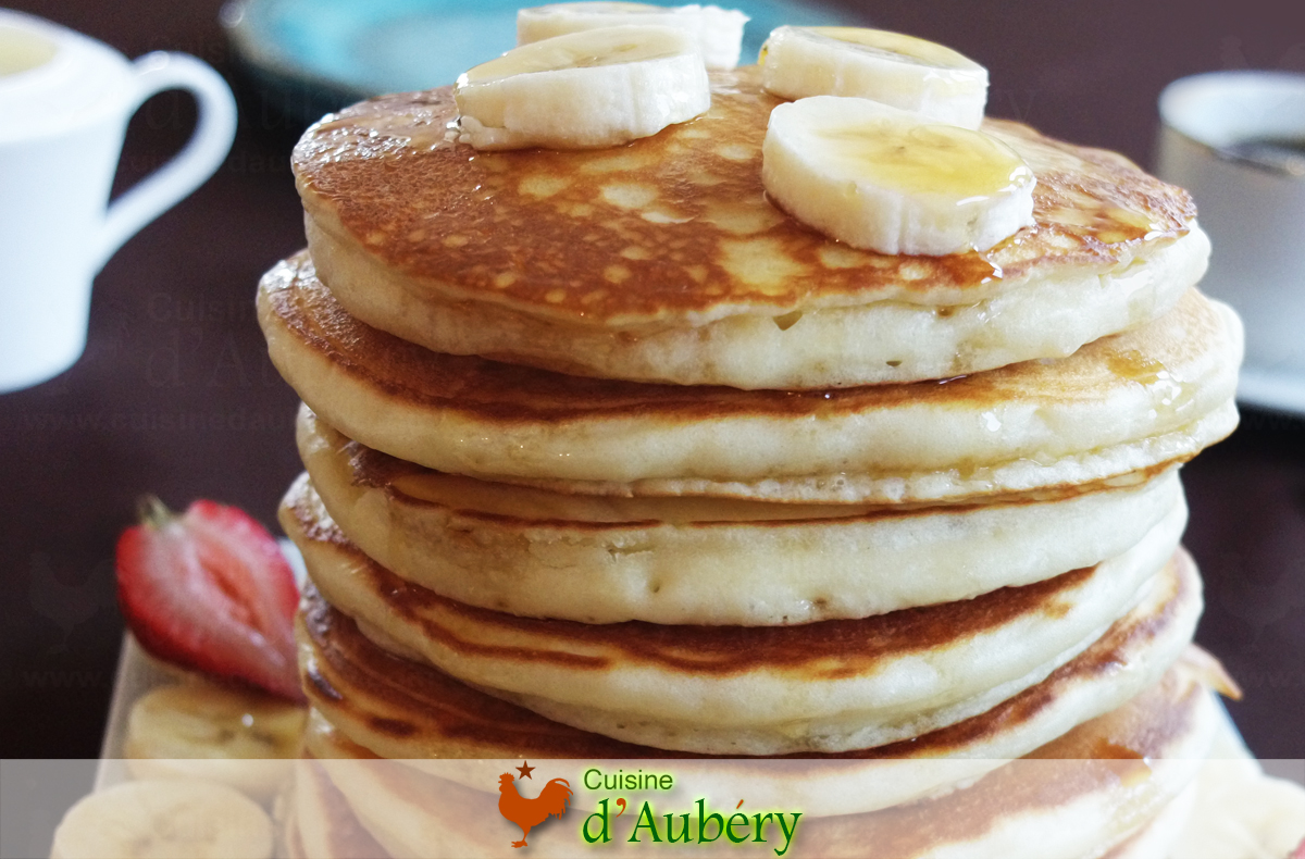 Les Pancakes Américains au Buttermilk, super moelleux et méga aériens