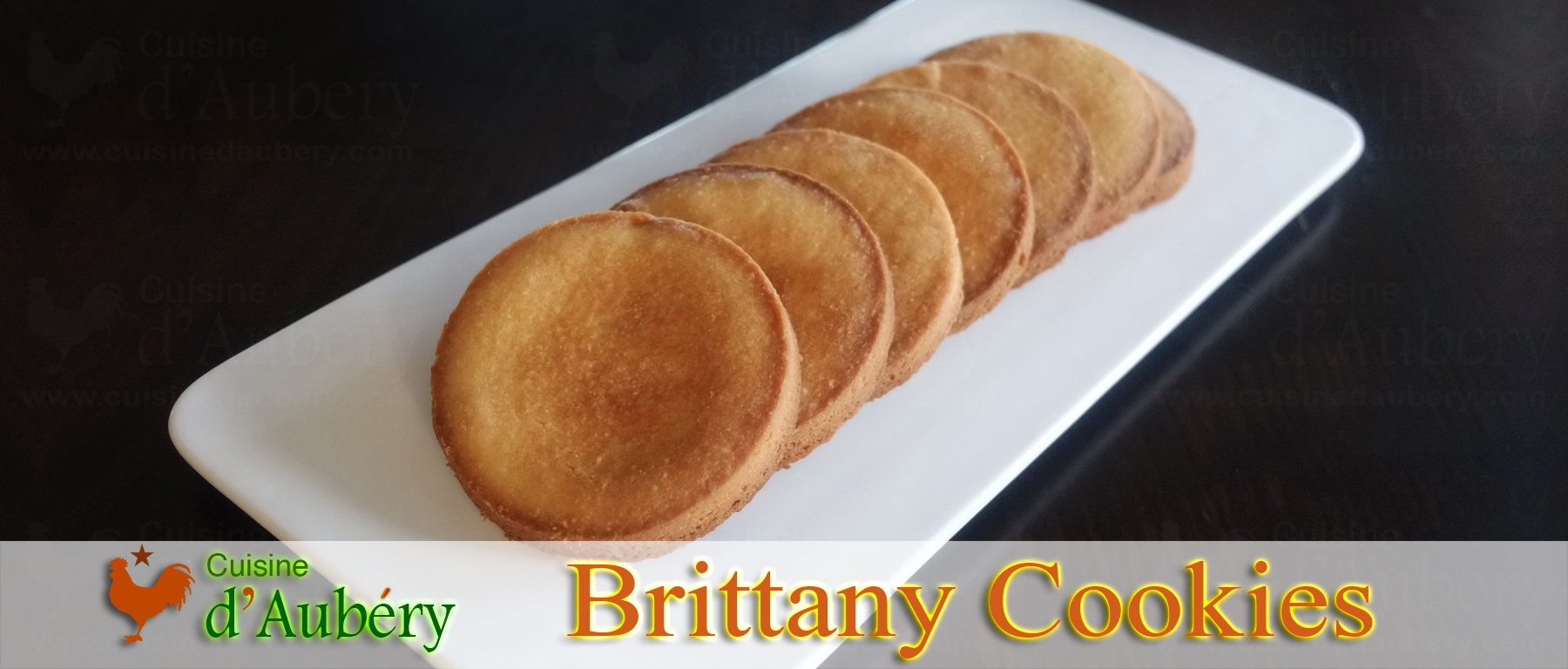 Brittany Cookies (palets Bretons)