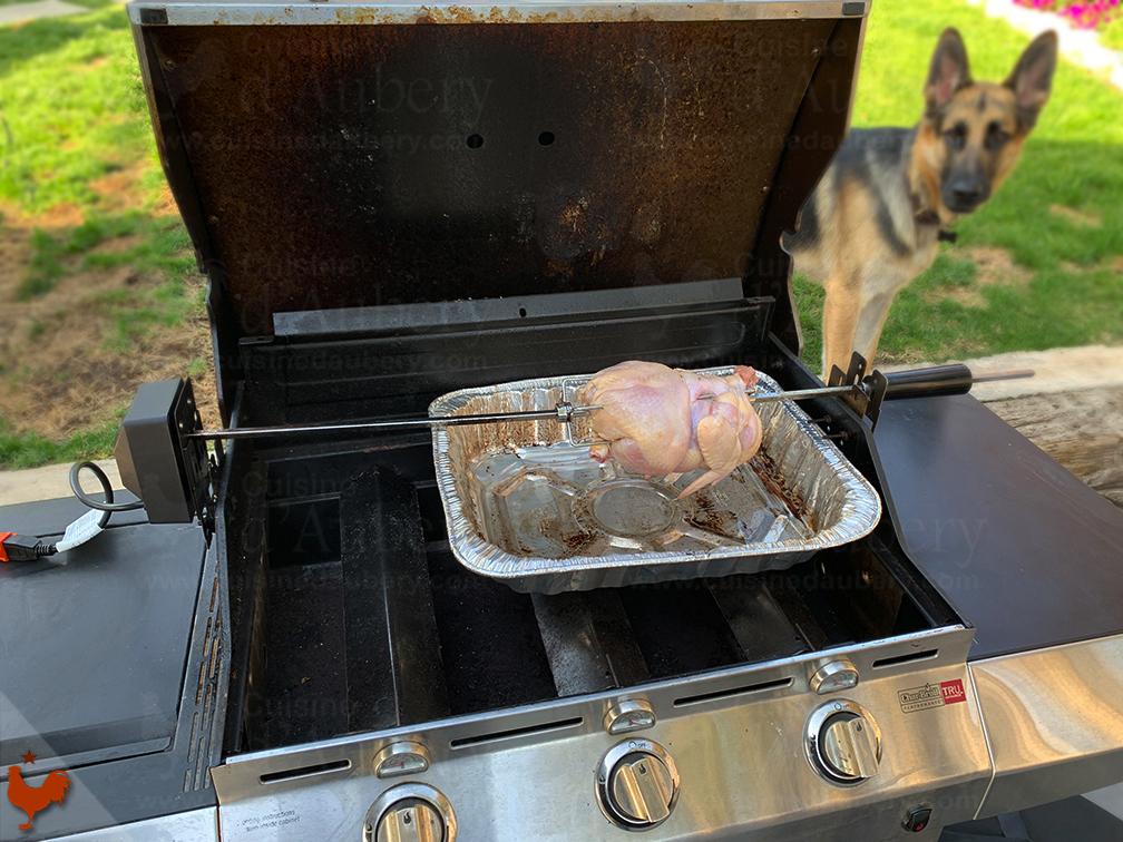 Poulet Rotisserie Ail Sauge