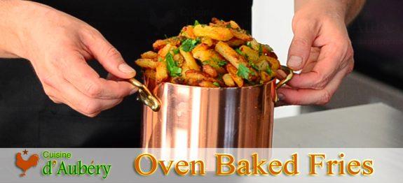 Leanier Healthier Crispier Oven-baked French Fries