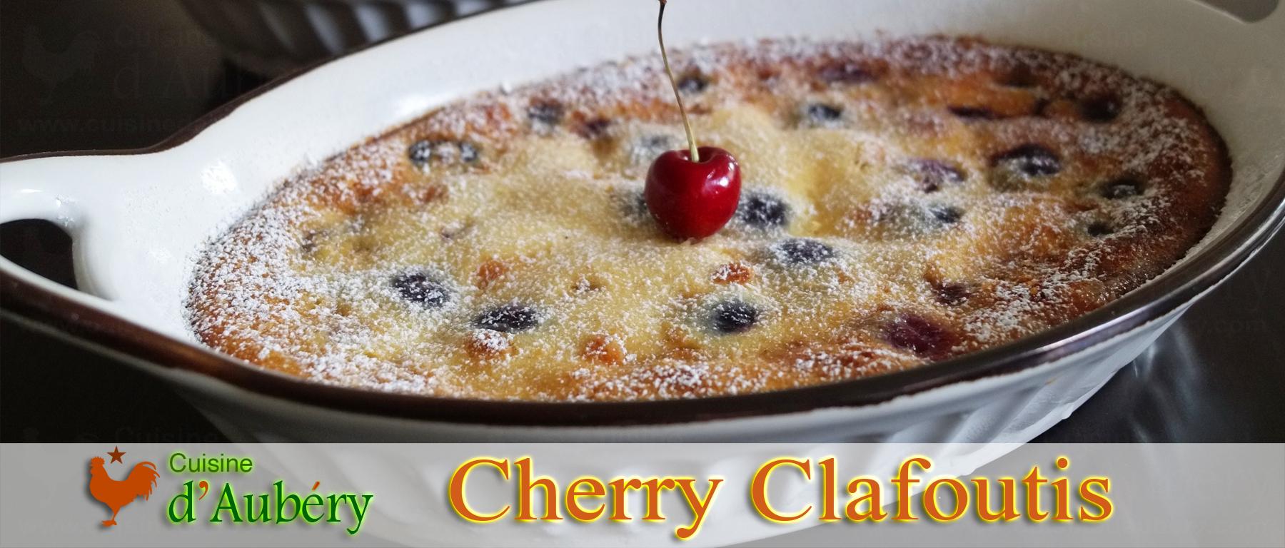 Lenotre's Cherry Clafoutis