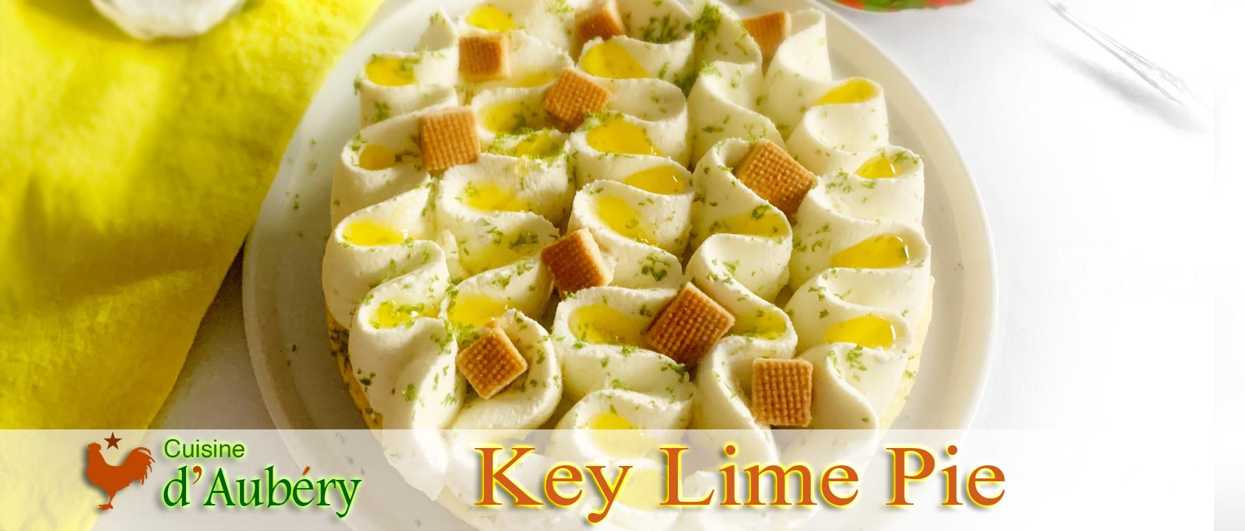 La tarte Key Lime Pie de Christophe Michalak